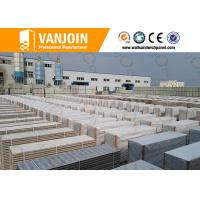 Lightweight Fireproof  Insulated Sandwich Wall Panels For Room Partition Manufactures