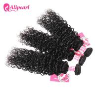 Natural Wave Brazilian Curly Hair Bundles , Soft Brazilian Human Hair Weave Manufactures