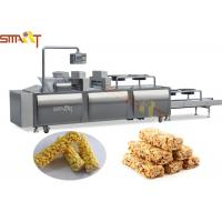 Automatic Cereal Bar Forming Machine 200 - 300kg / Hr Cereal Bar Equipment Manufactures