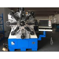 12 Axes Camless CNC Spring Coiling Machine For 2 - 6mm High Carbon Steel Manufactures