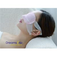 Quality Disposable Unscented Moisturizing Steam Eye Mask Self Heated Relax Sleep SPA vapour for sale