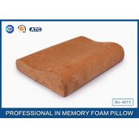 Health Care Memory Foam Contour Pillow Neck Support , Orthopedic Pillows For Neck Pain Manufactures
