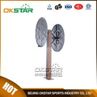 fitness equipment for elderly wood fitness equipment park exercise wheel for old people Manufactures