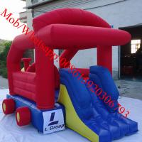 The truck theme mini bouncer caslte Manufactures