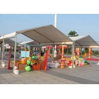 Fabric Structure Outdoor Canopy Tent , 100km/H Small Event Tent Without Windows Manufactures