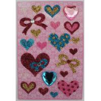 Diamond Recollections Glitter Stickers , Self Adhesive Rhinestone Stickers For for sale
