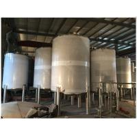 Stainless Steel LPG / Oxygen / Nitrogen Gas Storage Tank For Pharmaceutical Use Manufactures