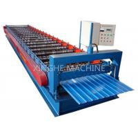 910mm IBR Standard Wall Panel Roll Forming Machine , Cold Roll Forming Machine Manufactures