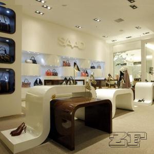 Bag stand display rack for handbags with free handbag furniture design Manufactures