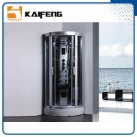Quality 900 Quadrant Steam Shower Cabin , Shower Steam Room Enclosures With Ceiling Light for sale
