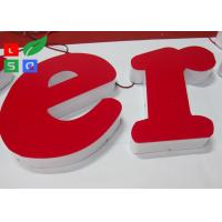 Quality RAL Color LED Channel Letter Signs High Lighting Uniformity For Interior Signage for sale