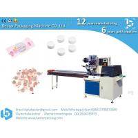 China factory High quality turntable type automatic Feeding & packing line packing machine for Compressed facial mask Manufactures