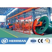 China Cable Machine Big Size Cable Laying Machine 50m/min Drum Twister Type Laying Up Machine on sale