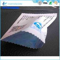 Food Plastic Packaging Bags / snack heat seal packaging bags with pillow pouch Manufactures