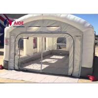 Mobile Inflatable Spray Booth For Car , Portable Paint Booth Pvc Tarpaulin Manufactures