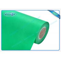 Green OEM Non Woven Polypropylene Spunbond Fabric Recyclable / Eco Friendly Manufactures