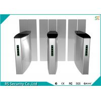 Automatic Speed Gates Systems RFID Reader Sliding Turnstile Gate Manufactures