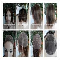 """Buy cheap Human hair full lace wig 10""""-26""""L 4#/27#color Straight indian remy hair,120%-180 from wholesalers"""