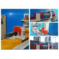 Buy cheap HWJ300mm V Wire Mesh Manufacturing Machine For Well Screen 4000-6000 Tube Length from wholesalers