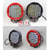 9 inch 111W 185W LED Driving Light For jeep Truck Off Road LED Wok light 4x4 12v 24v Manufactures