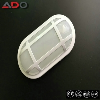 Buy cheap IK09 Oval White Wall Mounted Waterproof 24W PP 2400LM SMD LED Bulkhead Light from wholesalers
