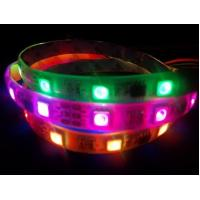 RGB addressable digital led strip 48leds/m WS2811 IC built-in LED Manufactures