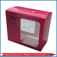 Clear Plastic Window CMYK Color Print Cardboard Carton Packaging Box Manufactures