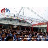 Square Spigot Lighting Truss System , Aluminum Roof Truss20 Years Life Span Manufactures