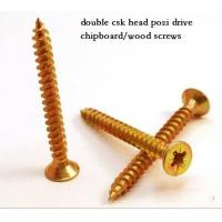 Coarse Or Fine Thread Chipboard Flooring Screws , Self Tapping Sheet Metal Screws Manufactures