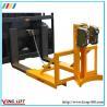 Adjustable Support Leg Forklift Drum Grabs Manufactures