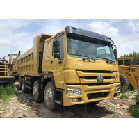 Used Dump Truck HOWO 375  8X4 second hand tipper cheapfor sale big bucket Manufactures