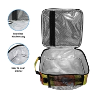 Multifunctional Reusable Cooler Tote Bag For Lunch Containing Manufactures