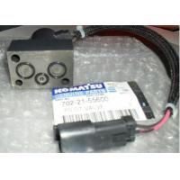 Seal O Ring Electric Solenoid Valve , Diesel Engine Type Komatsu Solenoid Valve Manufactures