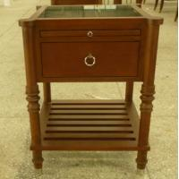 Stone top wooden night stand /bed side table,hospitality casegoods,hotel furniture NT-0082 Manufactures