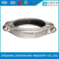 Metal Hoop Stainless Steel Grooved Fittings Groove Coupling Pipe Fitting Manufactures