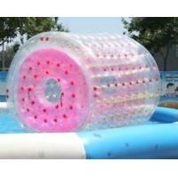 0.8 Mm PVC Inflatable Rolling Cylinder Inflatable Water Floats 1 Year Warranty Manufactures