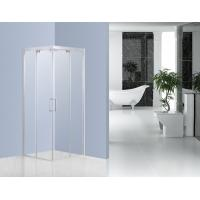 Quality Buffering Sliding Glass Shower Enclosures With 6mm Clear Tempered Glass for sale