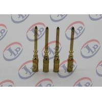 Small Metal Parts Copper Male Pins , Precision Machining Parts+ - 0.1mm Tolerance Manufactures