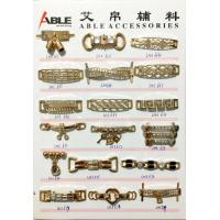 Custom Brushed Gold Zinc Alloy Buckle Chains For Ladies Shoe Spare Parts Manufactures