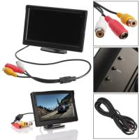 800 480 Screen Display Rear View Backup Reverse Mirror 5 Inch Monitor Manufactures