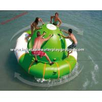 Quality Unique Funny Sea Inflatable Water Saturn Rocker With Durable Anchoring Ring for sale