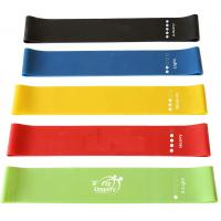 High End Rubber Elastic Resistance Loop Bands For Sports And Fitness Customized Logo Manufactures