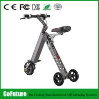 Light Weight Hub Motor Three Wheeled Electric Scooters For Personal Travel 500W Manufactures