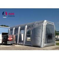 White Microwave Inflatable Paint Booth For Auto Paint Dryer , CE Approved Manufactures