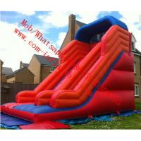 red mega inflatable slide Manufactures