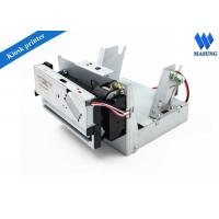 Quality Low Noise Receipt Kiosk Thermal Printer For Inquiry Machine , Thermal Ticket Printer for sale
