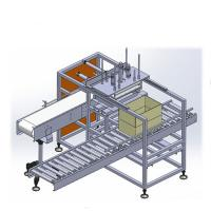 Good price Box Carton Sealing packing machine box folding machine Manufactures