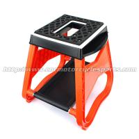 Red Universal Dirt Bike Parts Center Work Stand Lift Hard Plastic Steel Manufactures