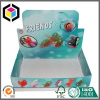 Colorful Design Glossy Custom Print Toy PDQ Corrugated Carton Display Box Manufactures