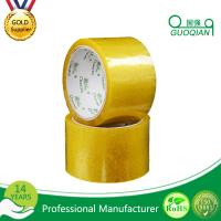 Carton Adhesive Transparent BOPP Packing Tape Customized 48mmx66mm Width Manufactures